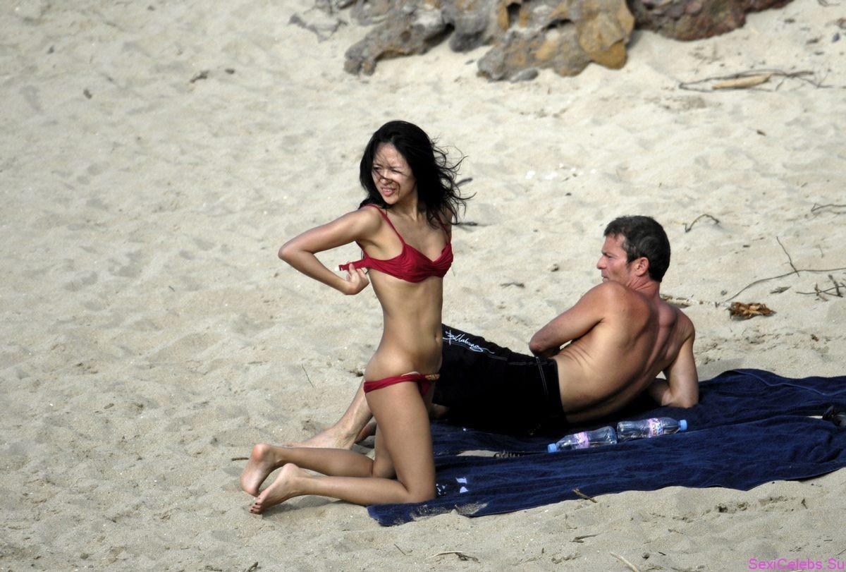 Celebrity and Hairstyle: zhang ziyi bikini pictures beach boyfriend Zhang ziyi beach pictures