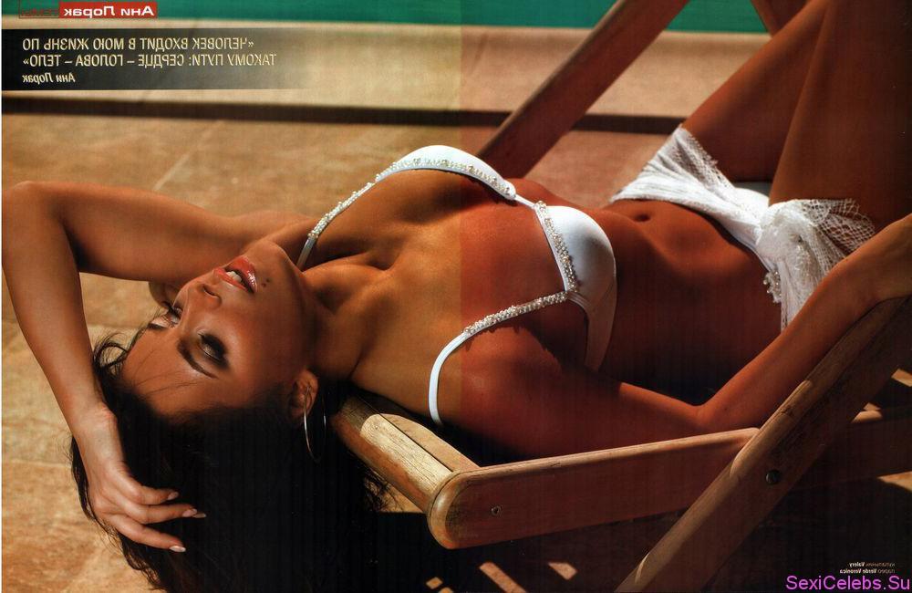 Голая Ани Лорак в журналах и на фото с засветами