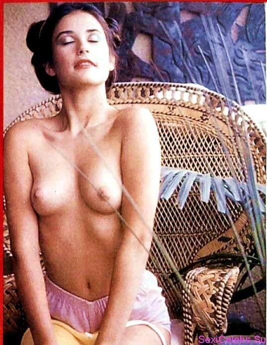 Актриса Деми Мур Знаменитости в эротическом образе. Kinkylove.