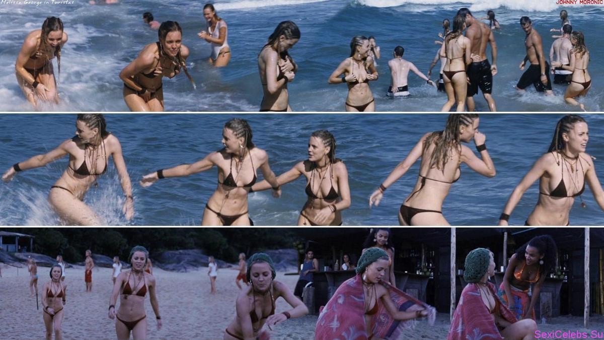 Melissa george голая видео