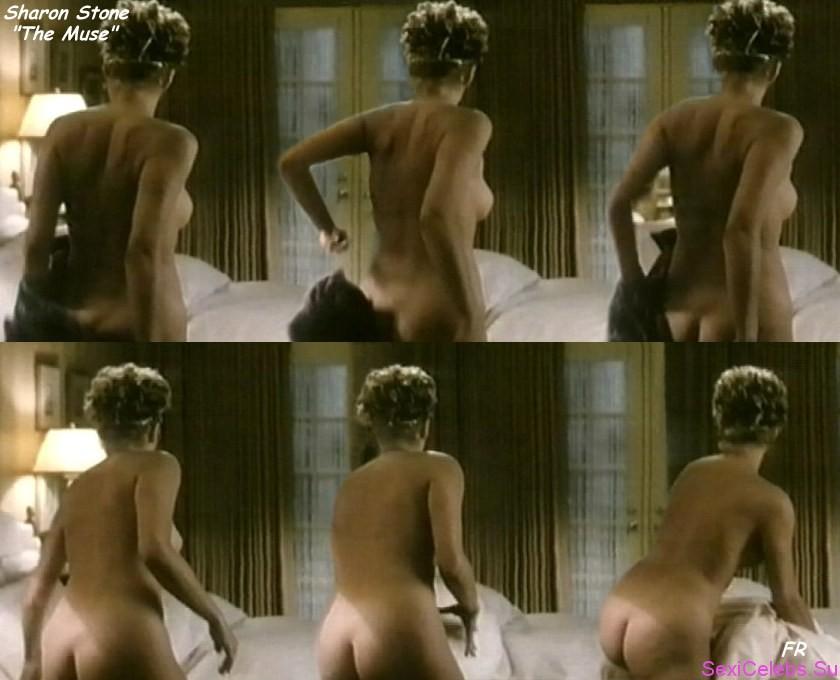 Голая Шерон Стоун на фото из Playboy и в кино